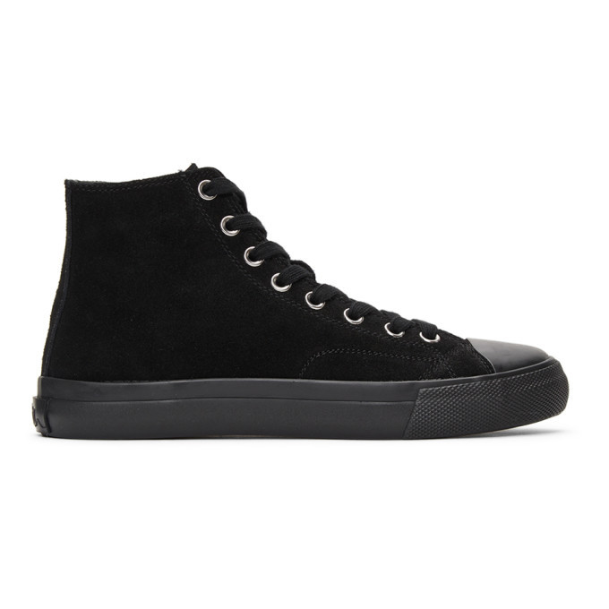 Photo: Paul Smith Black Suede Carver Sneakers