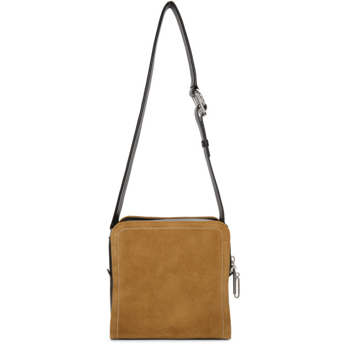 3.1 Phillip Lim Black and Brown Hudson Bag