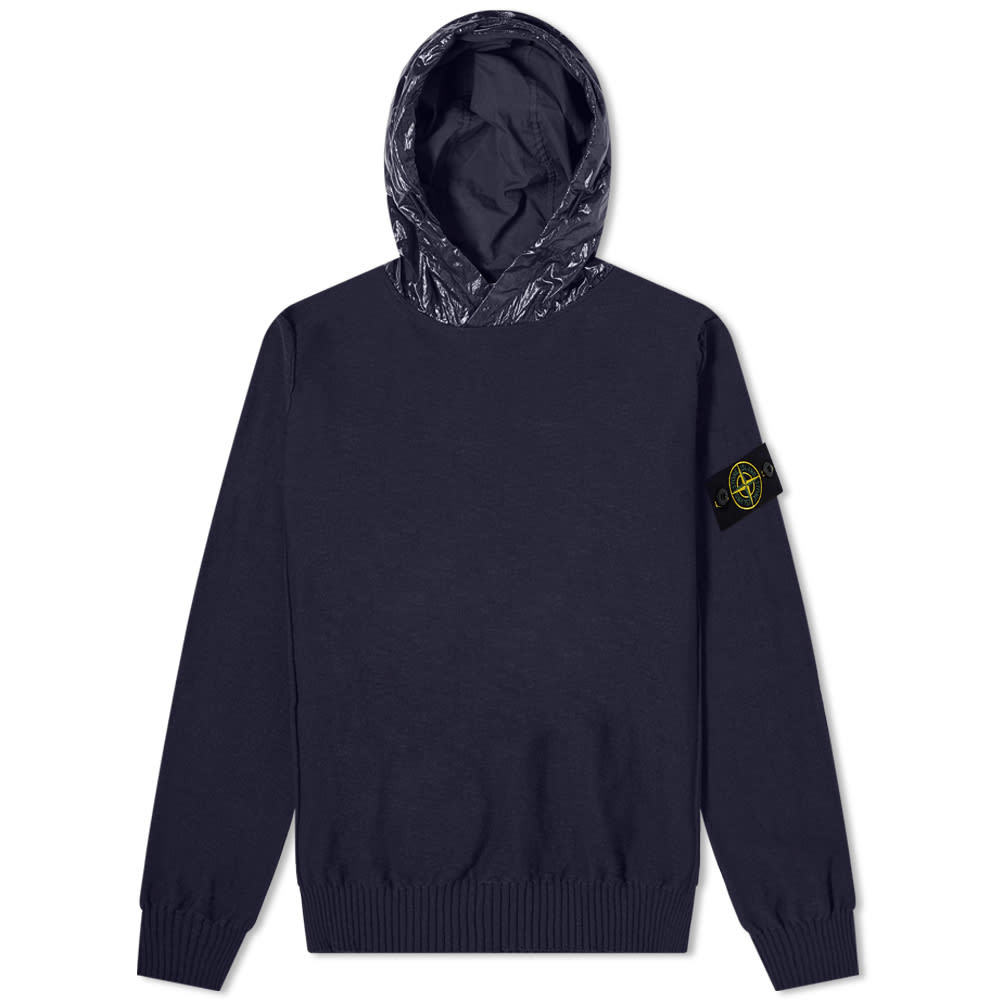 Stone Island Nylon Hooded Knit