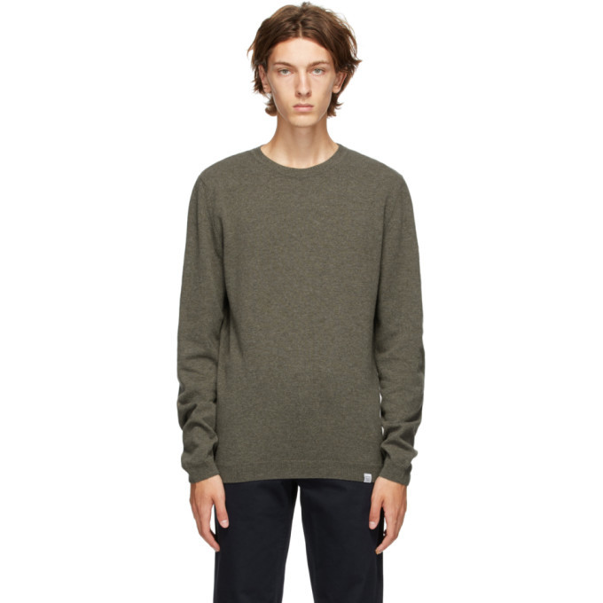 Photo: Norse Projects Green Wool Sigfred Sweater