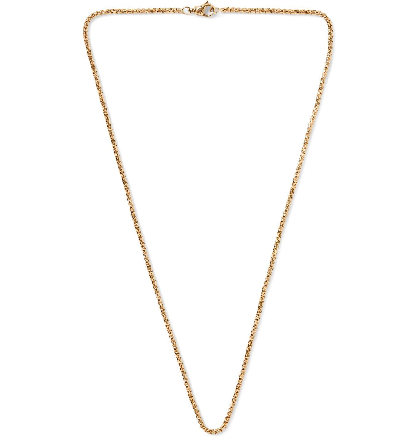 Photo: David Yurman - 18-Karat Gold Chain Necklace - Gold