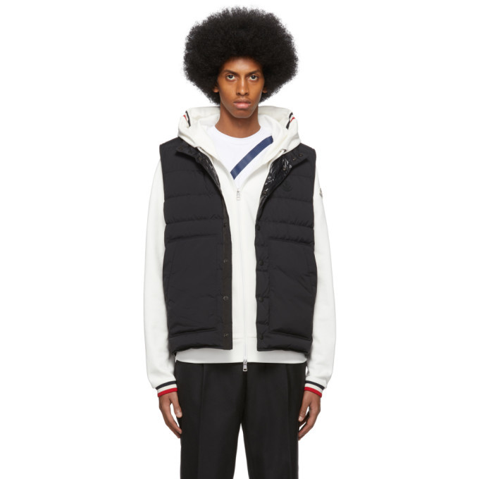 Photo: Moncler Black Down Merak Vest