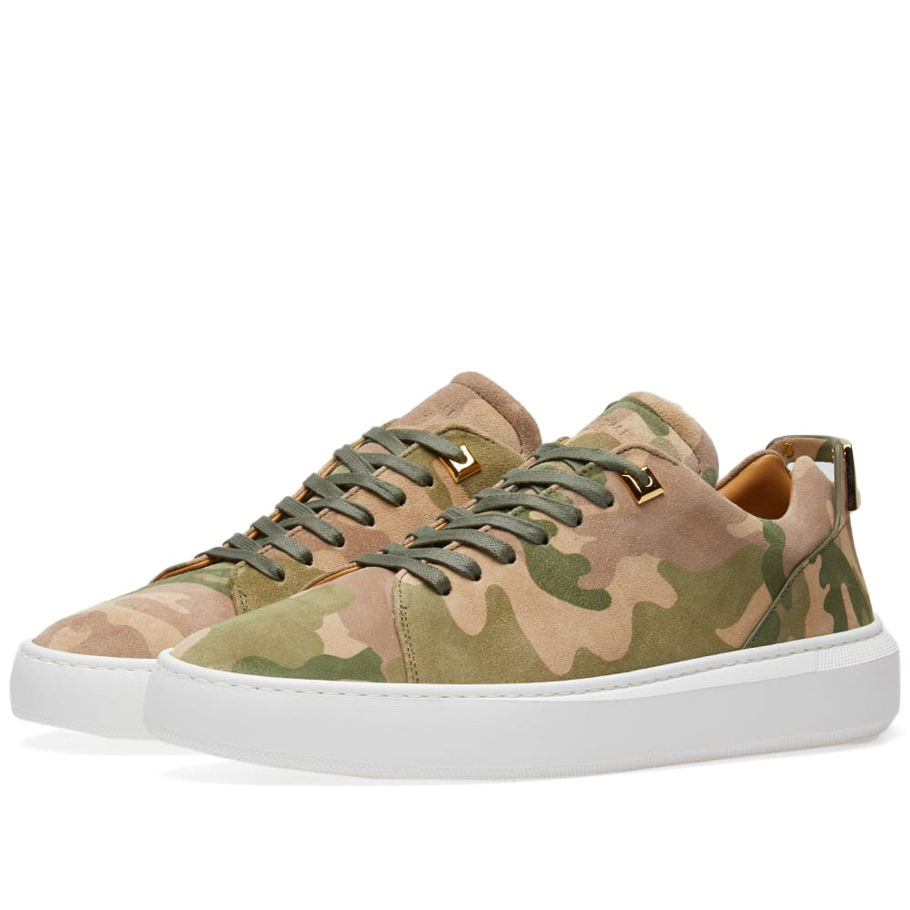 Photo: Buscemi Uno Low Sneaker Green