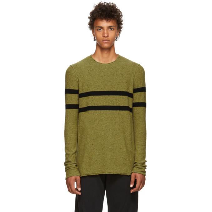 Photo: Ziggy Chen Yellow Cashmere Striped Sweater