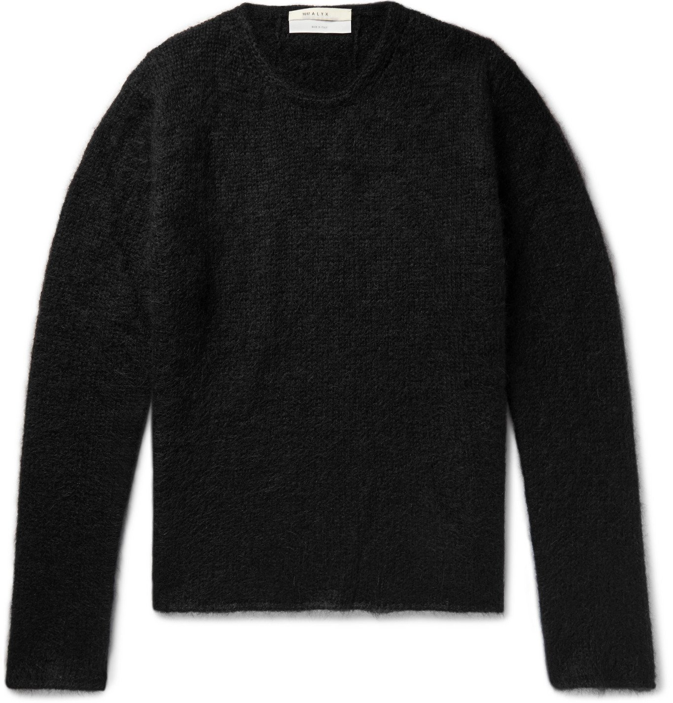 Photo: 1017 ALYX 9SM - Mohair-Blend Sweater - Black
