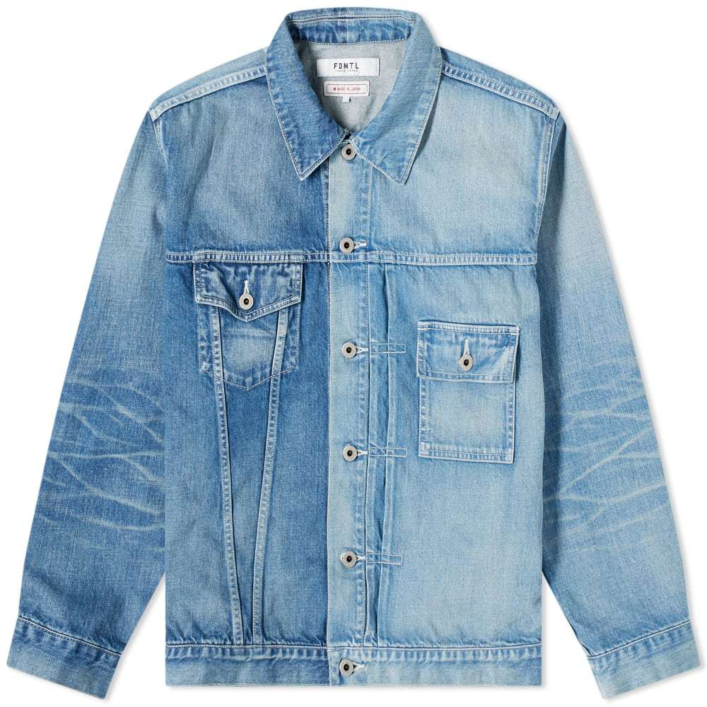 Photo: FDMTL 3Yr Wash Denim Jacket