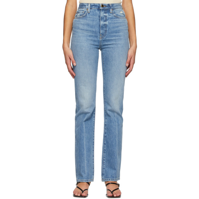 Photo: Khaite Blue Danielle Jeans