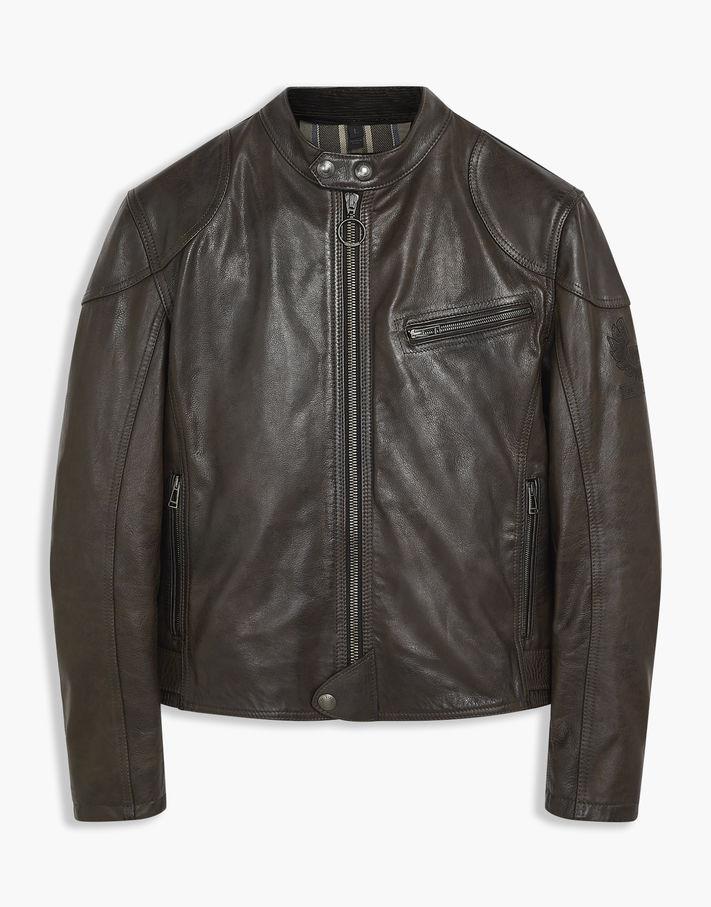 Belstaff Supreme Motorcycle Jacket Brown