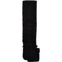 Sacai Black Wool Shrivel Pocket Scarf