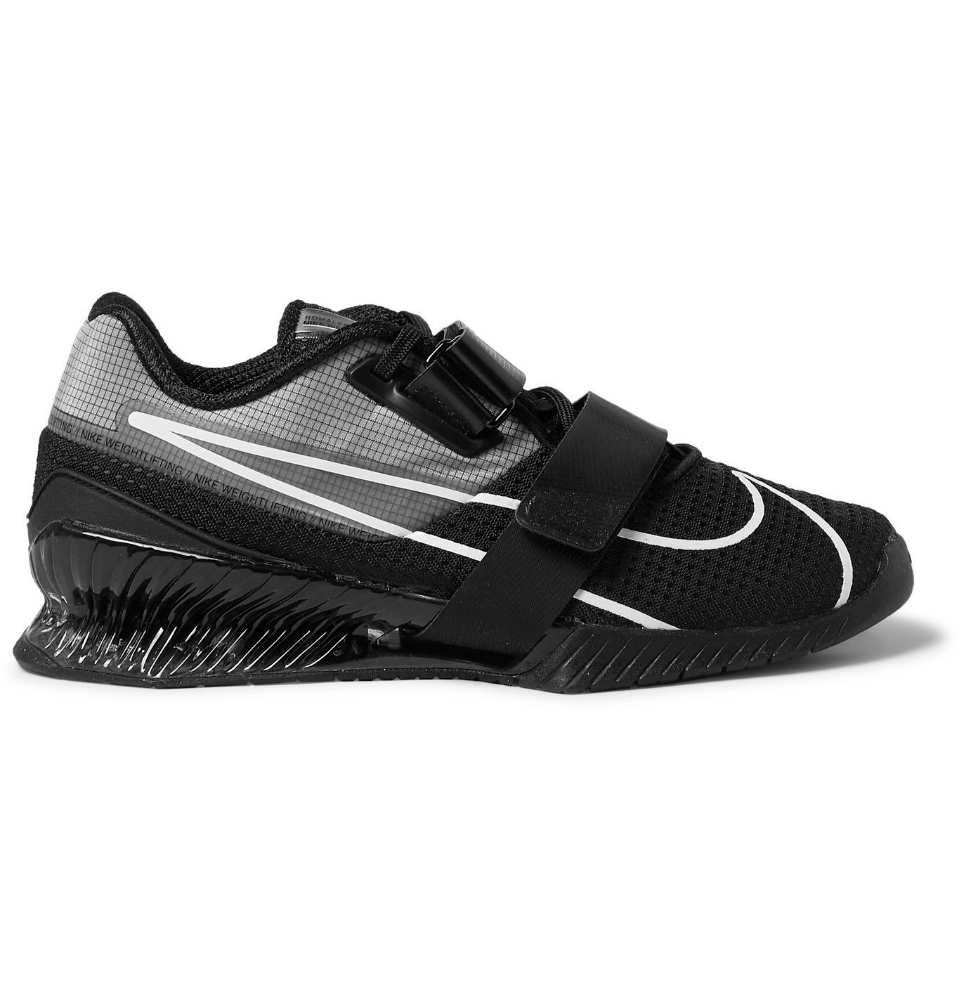 Photo: Nike Training - Romaleos 4 Ripstop and Mesh Sneakers - Black
