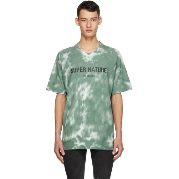 Ksubi Green Super Nature T-Shirt