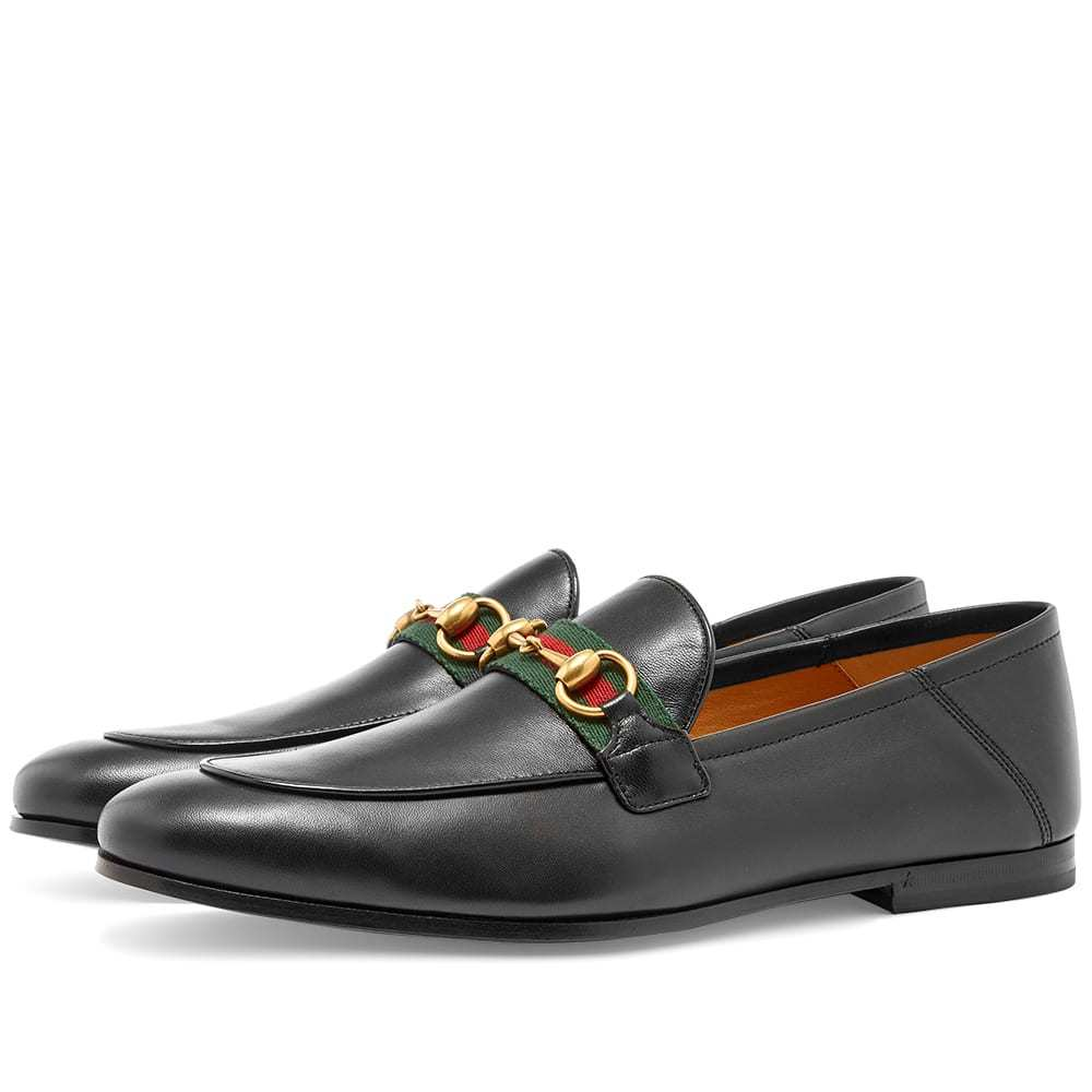Photo: Gucci Brixton Bit Web Loafer