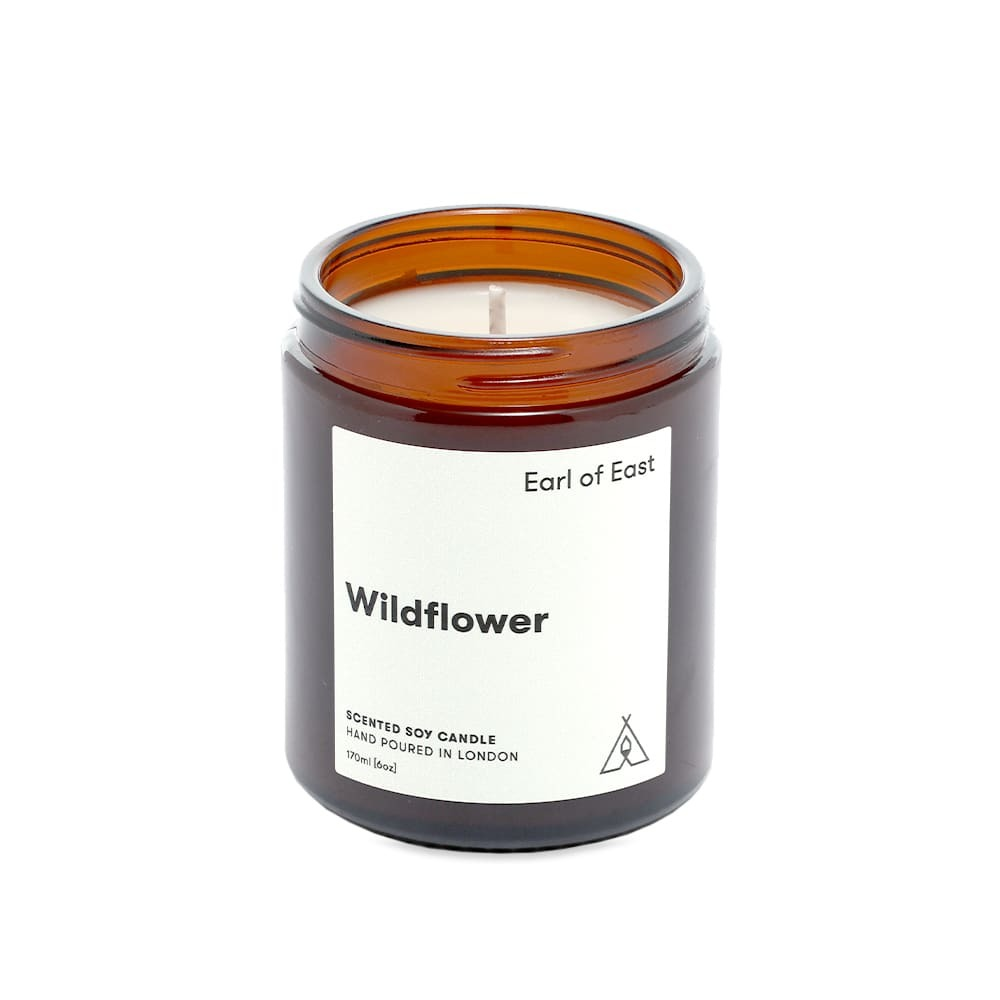 Photo: Earl of East Soy Wax Candle - Wildflower