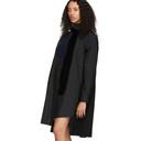 Sacai Black Tie Collar Shirting Dress