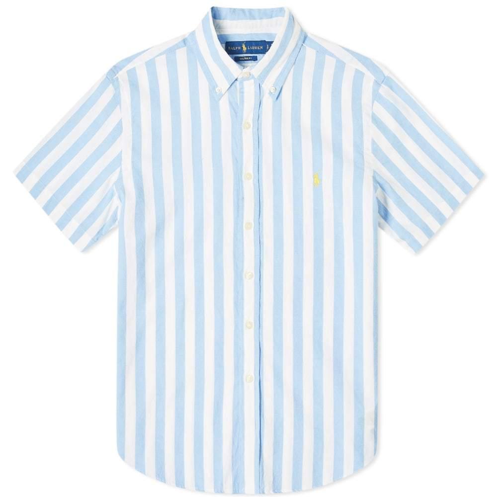 Photo: Polo Ralph Lauren Short Sleeve Bold Vertical Stripe Shirt