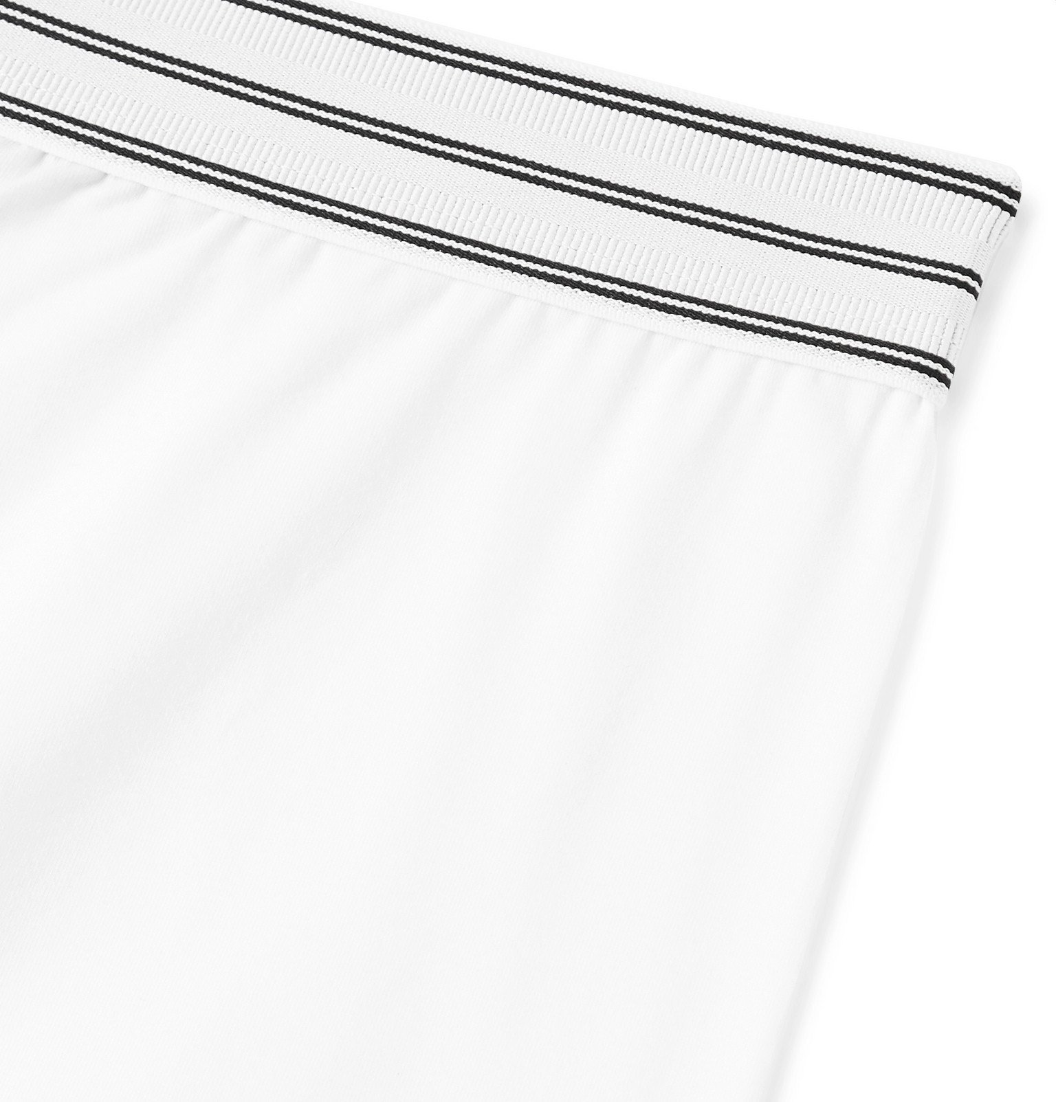 Dolce & Gabbana - Stretch-Cotton Boxer Briefs - White