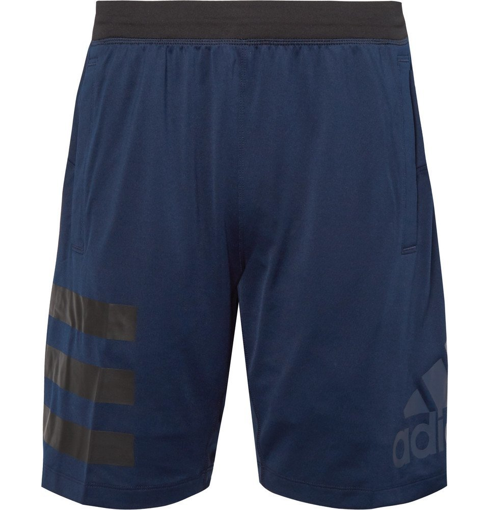 Photo: Adidas Sport - Speedbreaker Hype Icon Climalite Shorts - Navy
