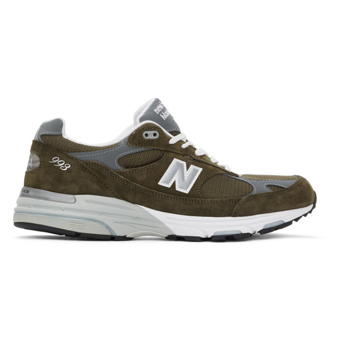 Photo: New Balance Khaki 993 Sneakers