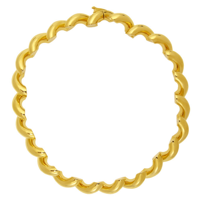 Photo: Balenciaga Gold Loop Necklace