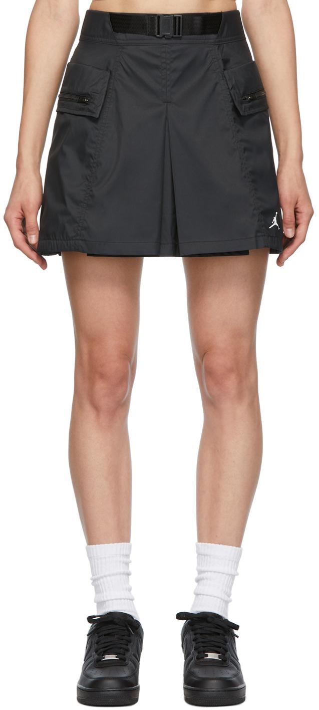 Photo: Nike Jordan Black Jordan Next Utility Capsule Miniskirt