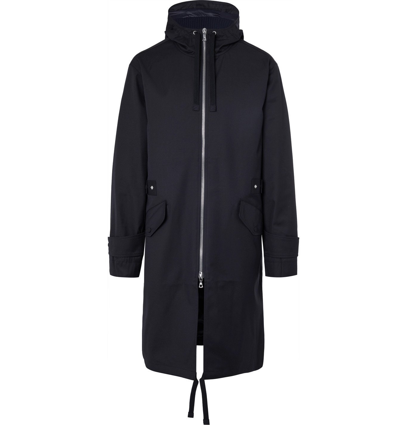 Photo: Officine Generale - Basil Water-Resistant Twill Parka - Blue