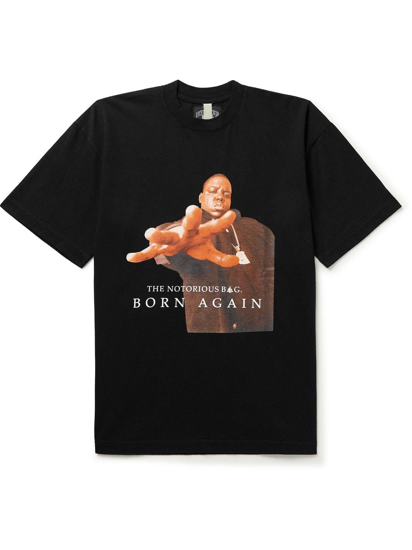 Photo: Wacko Maria - Printed Cotton-Jersey T-Shirt - Black