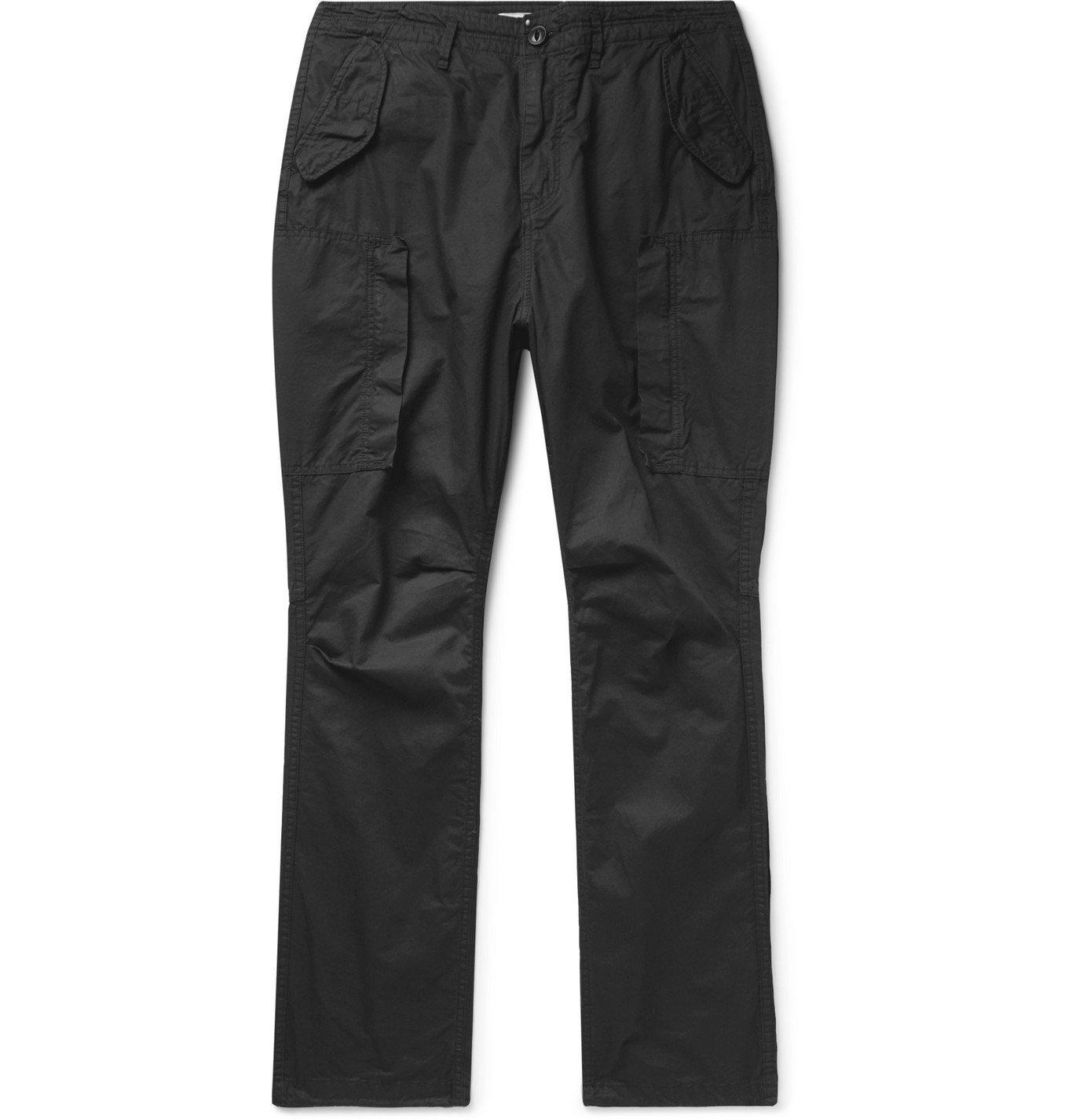Photo: nonnative - Trooper 6P Cotton-Twill Trousers - Black