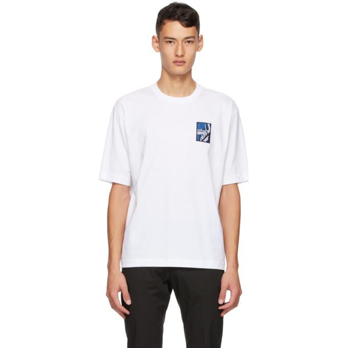 Dunhill White Ginza Logo T-Shirt