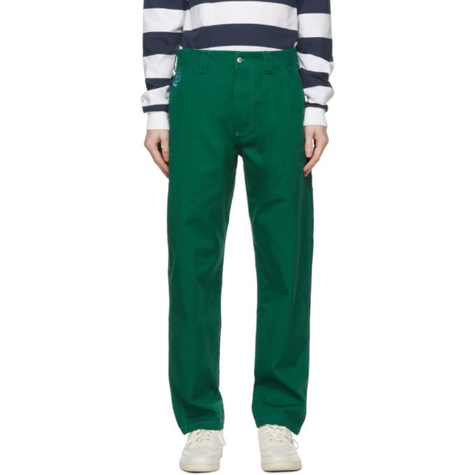 Photo: Billionaire Boys Club Green Painter Trousers