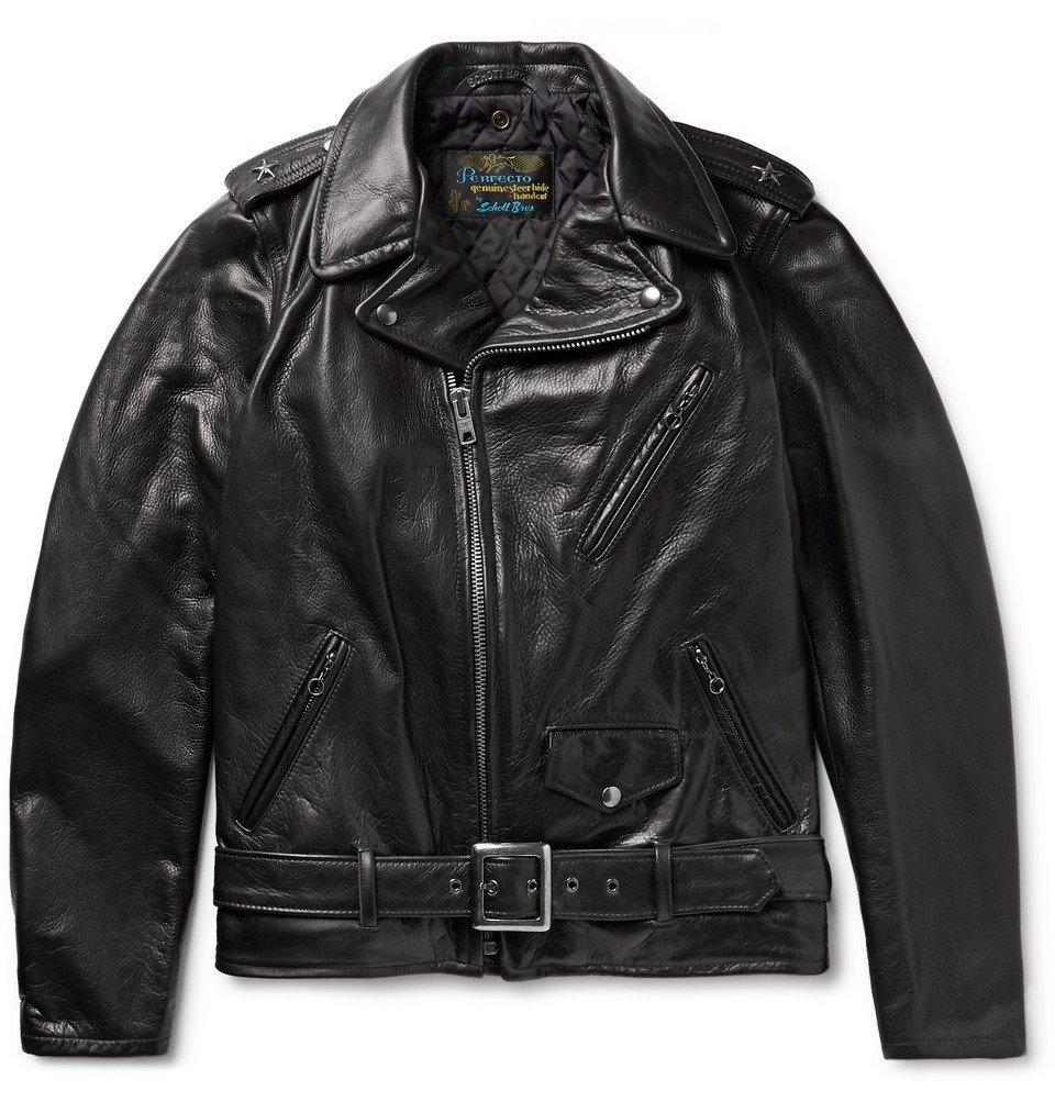 Photo: Schott - 50s Perfecto Leather Biker Jacket - Black
