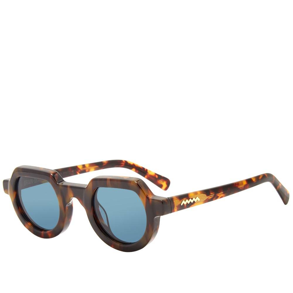 Photo: Brain Dead Tani Sunglasses Tortoise & Dark Teal