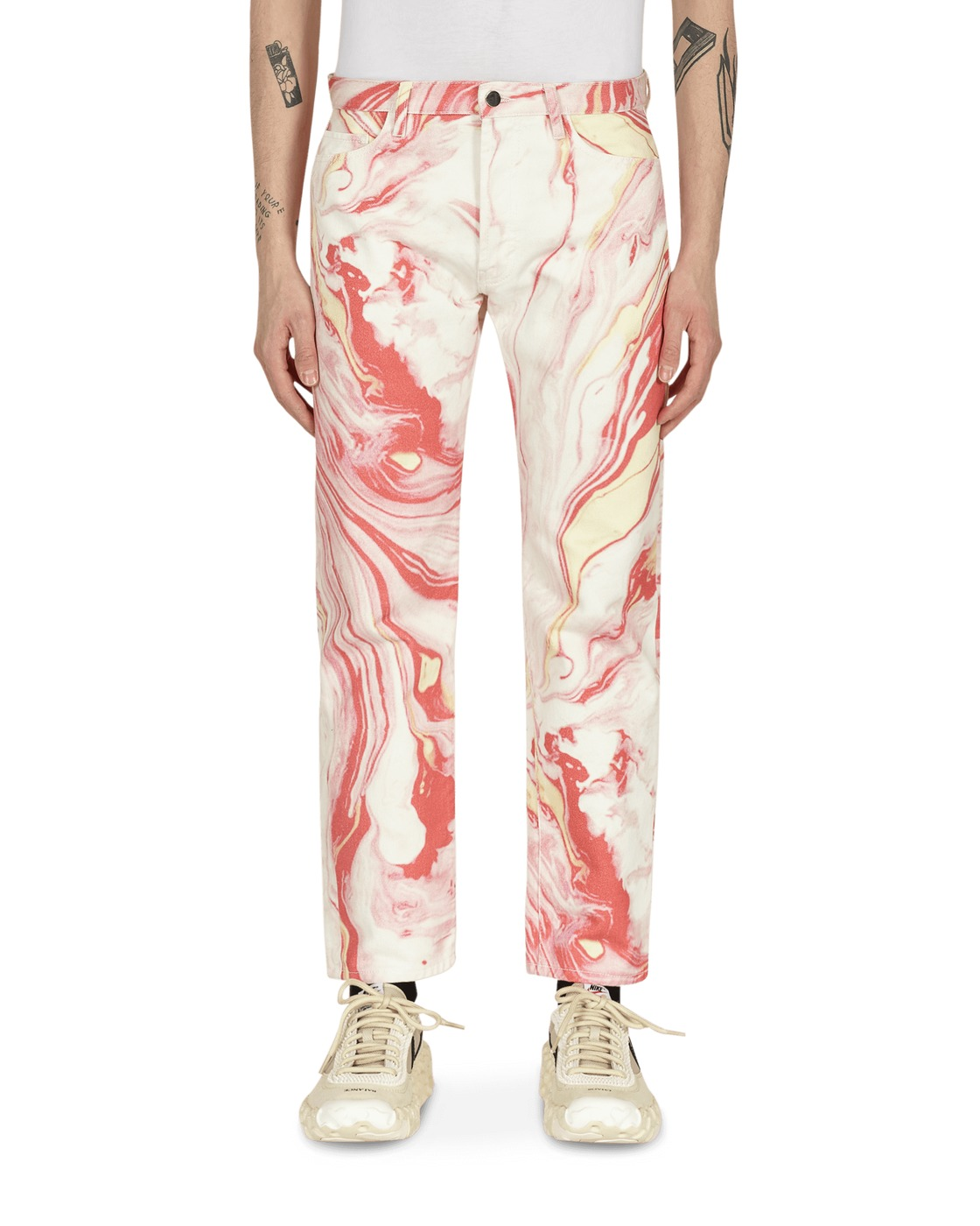 Aries Marble Lilly Jeans Pink