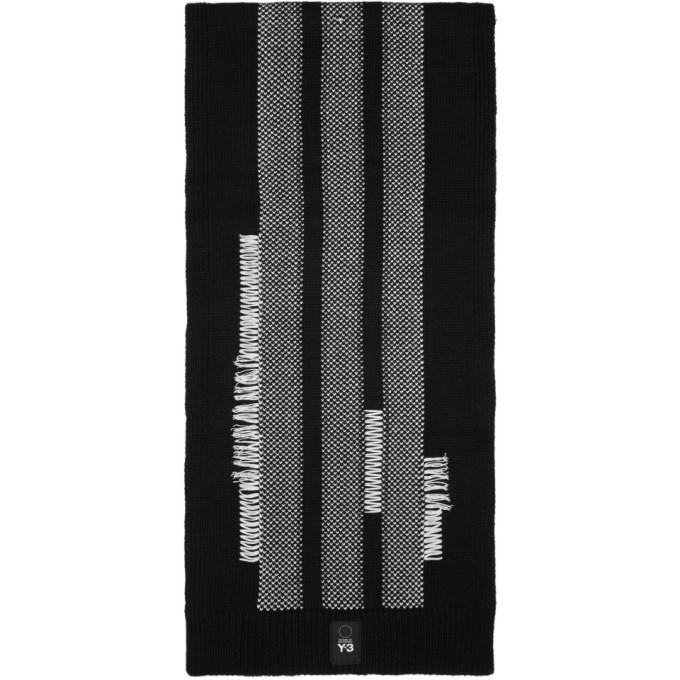 Photo: Y-3 Black Knit Scarf