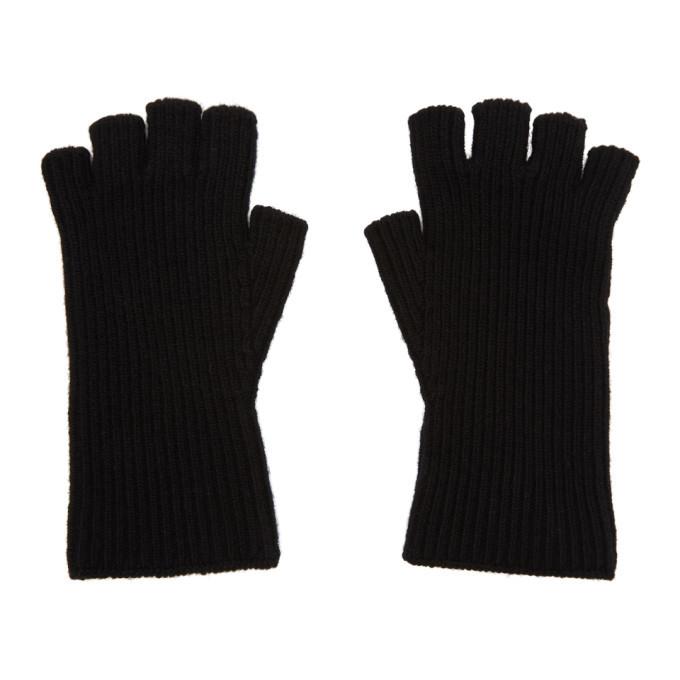 Photo: Julius Black Rib Text Gloves