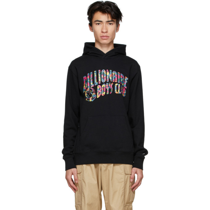 Photo: Billionaire Boys Club Black Confetti Logo Hoodie