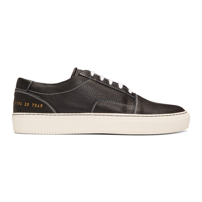 Common Projects Black Skate Low Sneakers