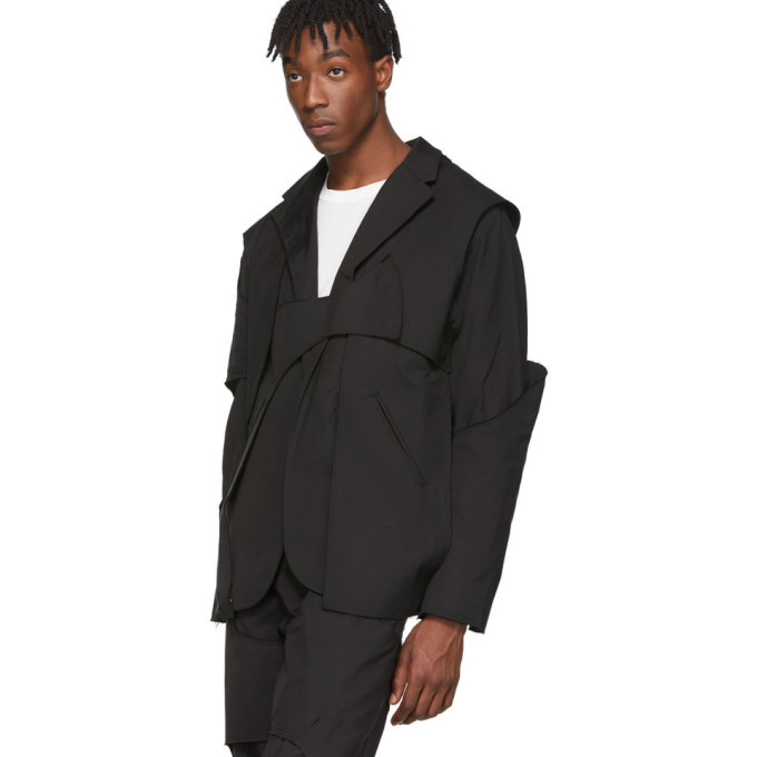 Post Archive Faction PAF Black 2.0 Tailored Center Jacket
