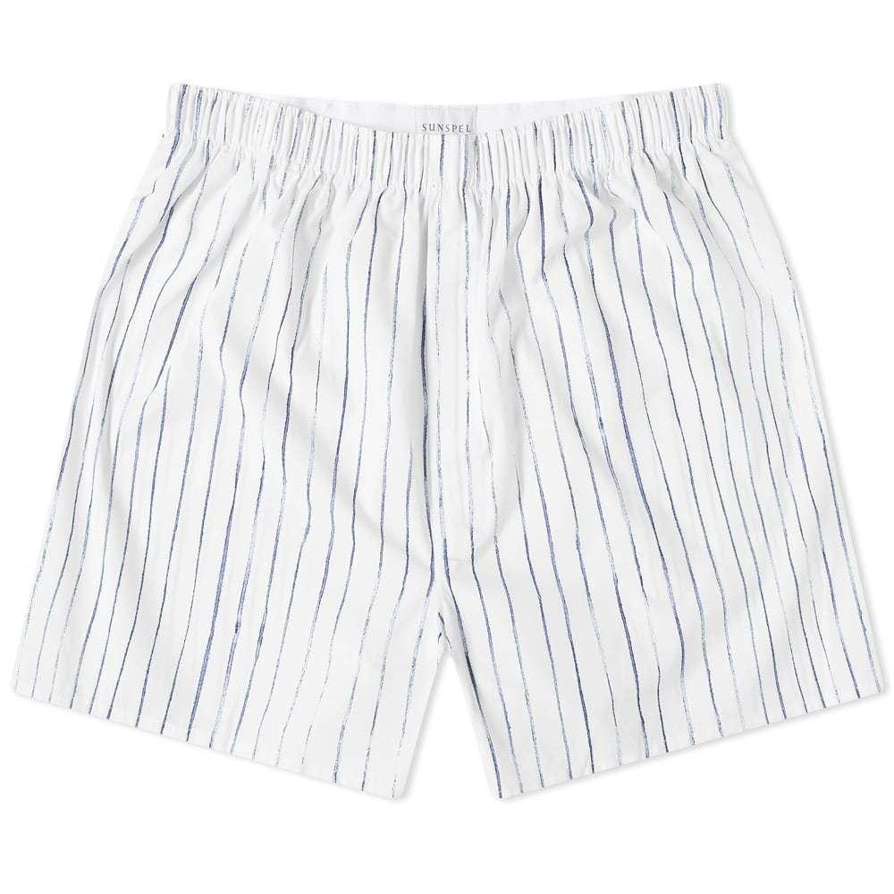 Photo: Sunspel Inky Stripe Boxer Short