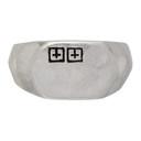 Ksubi Silver Dripps Box Cross Signet Ring