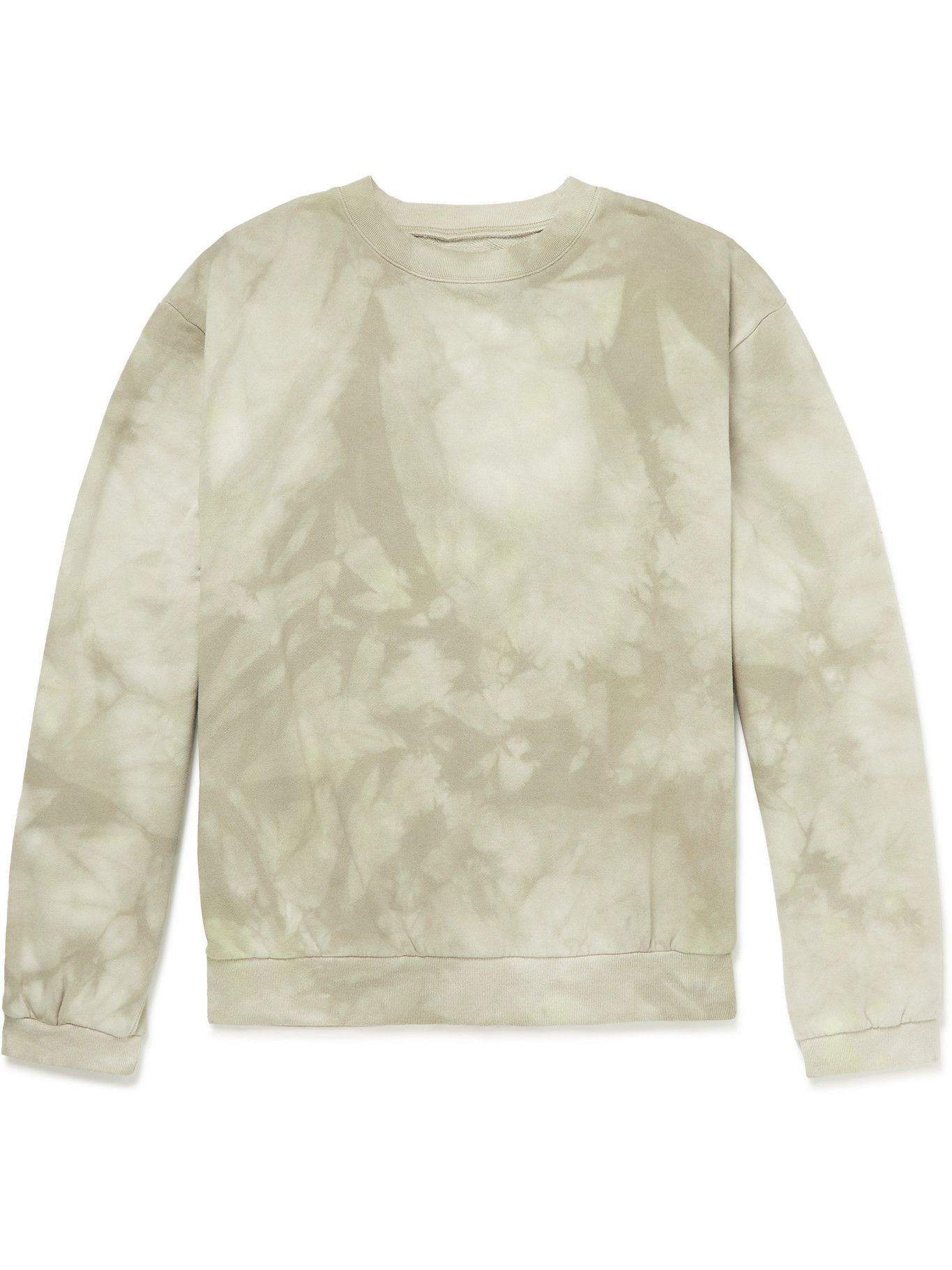 Photo: KAPITAL - Tie-Dyed Cotton-Jersey Sweatshirt - Neutrals