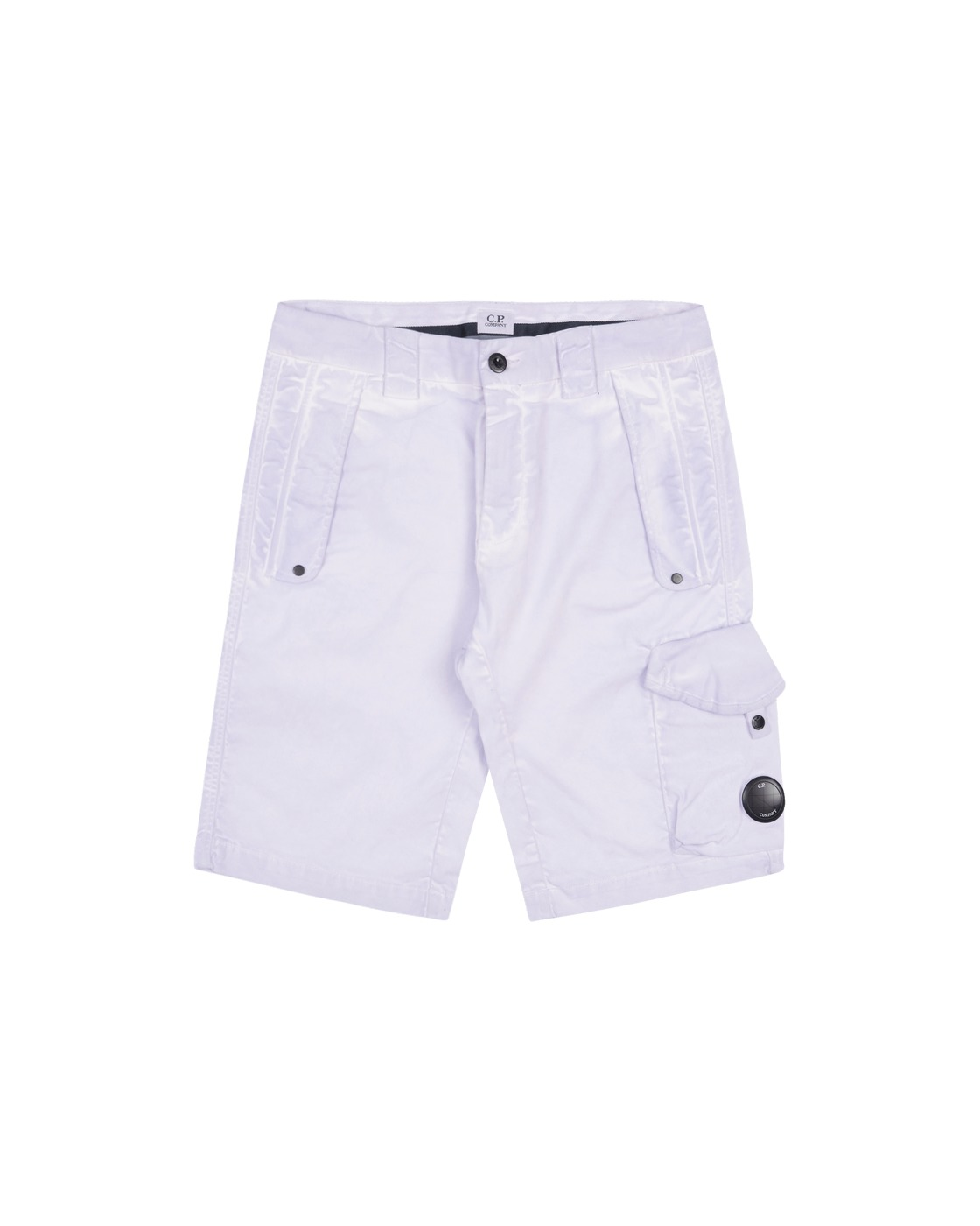 Photo: C.P. Company Cargo Shorts Thistle
