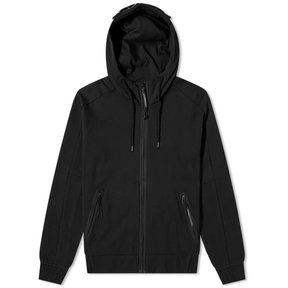 Photo: C.P. Company Zip Through Goggle Hoody