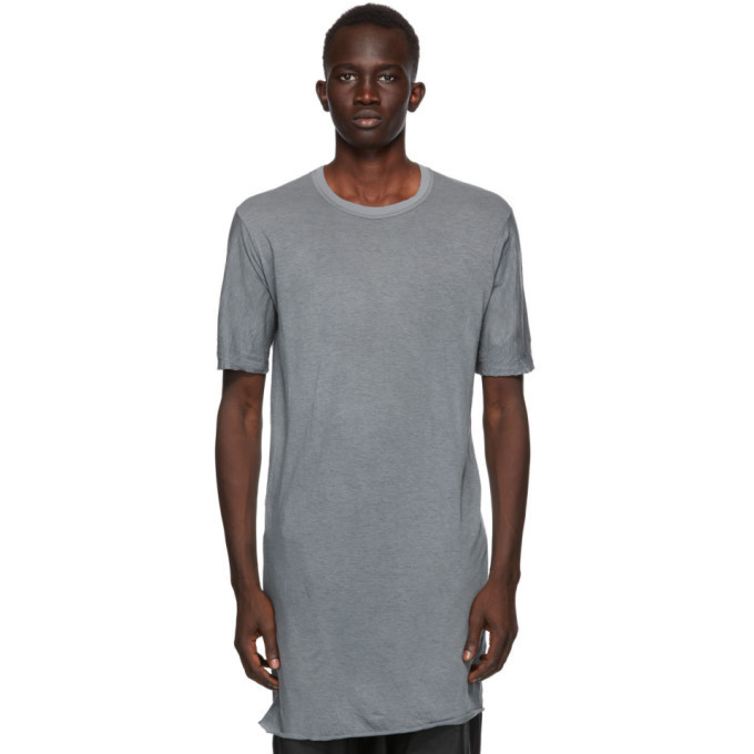 Photo: Boris Bidjan Saberi Grey Object-Dyed T-Shirt