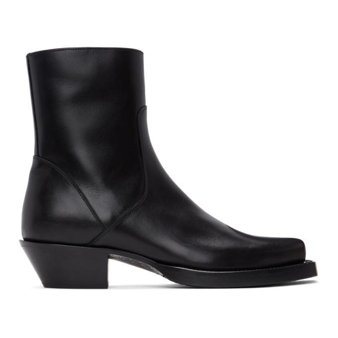 Photo: VETEMENTS Black Texas Boots