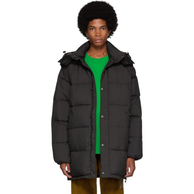 Photo: Kenzo Black Down 2-In-1 Long Puffer Jacket