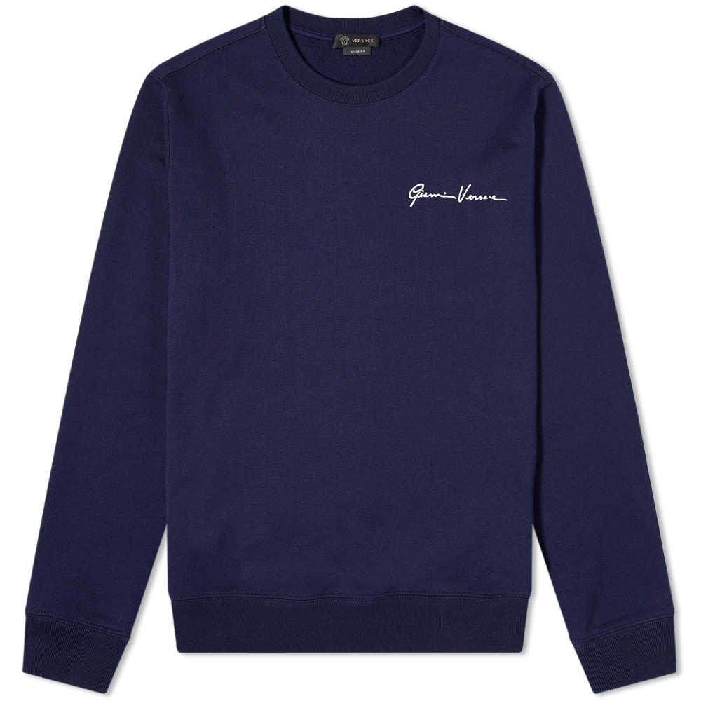 Photo: Versace Gianni Script Crew Sweat