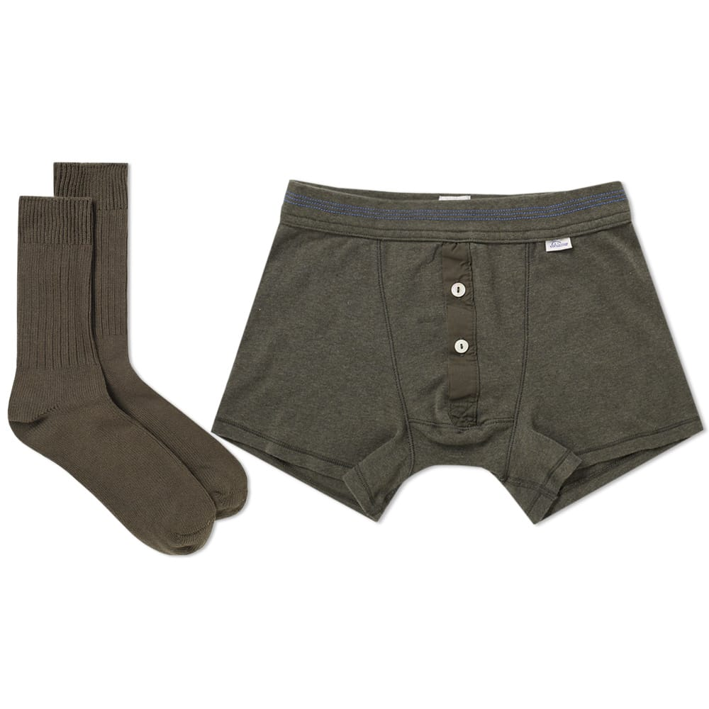 Schiesser Boxer Short and Sock Pack