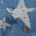 KAPITAL - Camp-Collar Indigo-Dyed Linen Shirt - Blue