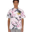 Aries Temple Tie Dye T Shirt Purple