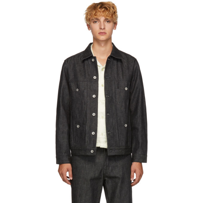 Photo: Goodfight Black Denim 200 Gram Special Jacket